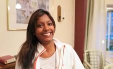 Martina Regnér, undersköterska i Nykvarns hemtjänst, har deltagit på utbildningen.