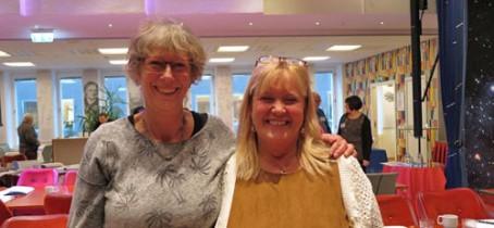 Elli Halonen och Lottie Alsterdal talade om värdet av praktisk klokhet i vården och omsorgen om äldre.
