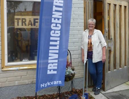 Lotta Ferrer, frivillgsamordare i Nykvarns kommun