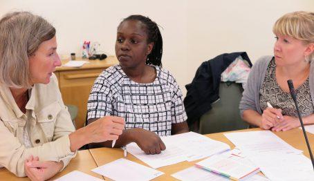 Deltagare från XXX boende i Haninge diskuterade patientfall